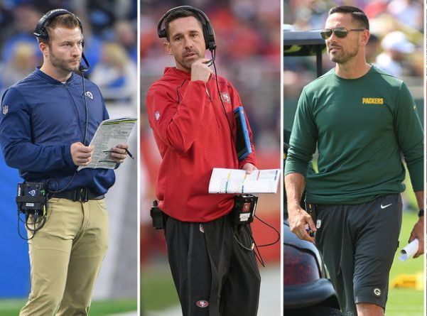 Coaching tree: Kyle Shanahan, Matt LaFleur, Sean McVay